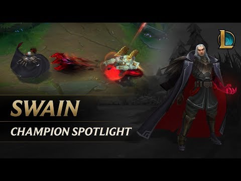 Swain Champion Spotlight | Gameplay – League of Legends