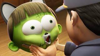 Забавный мультфильм | Spookiz Хэллоуинские песни для детей 스푸키 즈 | Мультфильм для детей
