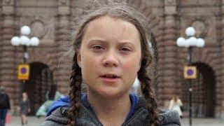 Greta Thumberg la niña sueca que lucha por el Medio Ambiente