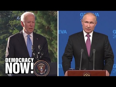 Biden and Putin Agree to Begin Work on Arms Control & Cybersecurity in Effort to Avoid New Cold War