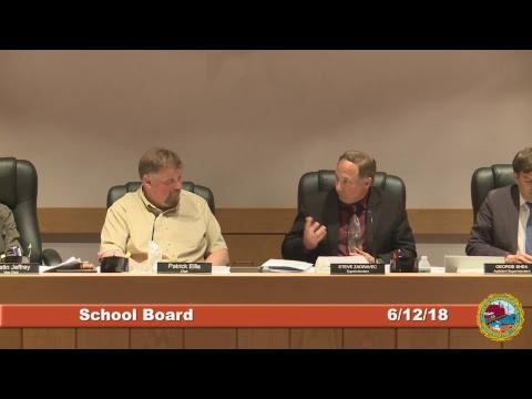 School Board 6.12.2018