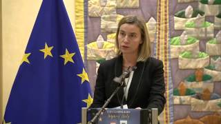 Federica Mogherini hosts the Eurochanukah event at the European Commission : speech