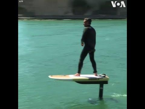 Ván lướt sóng bằng điện sẽ ra mắt vào tháng sau (VOA)