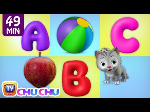 ABC Alphabet & Numbers for Kids - ChuChu TV Learning Songs for Kids