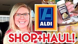 🎃 FALL ALDI HAUL + SHOP WITH ME! 😁 ALDI GROCERY HAUL 🛒 NEW ITEMS