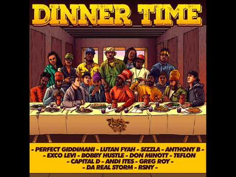 Dinner Time Riddim Mix (Full) Feat. Sizzla Lutan Fyah Anthony B Perfect Giddimani (June 2018)
