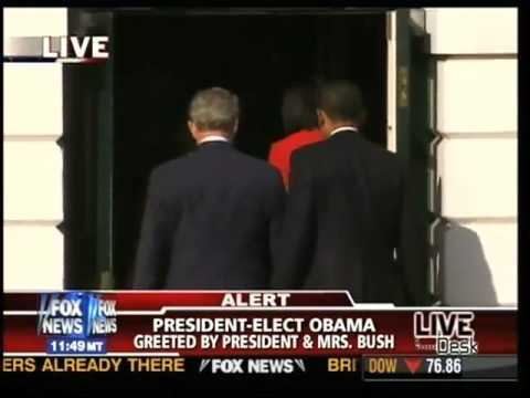President-Elect Obama Visits the White House