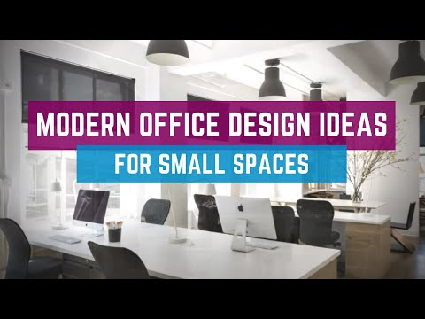 , title : '🔴 Modern Office Design Ideas For Small Spaces