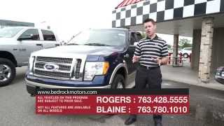 Bedrock Motors - September 2015 Auto Show - Cars for sale Rogers, Blaine, Minneapolis, St Paul, MN