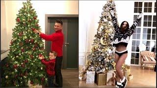 Новый год 2019: Как знаменитости украсили елки к Новому году