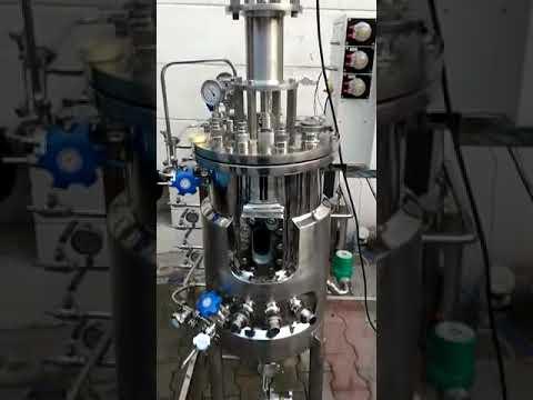 Jacketed Reactor Fermenter