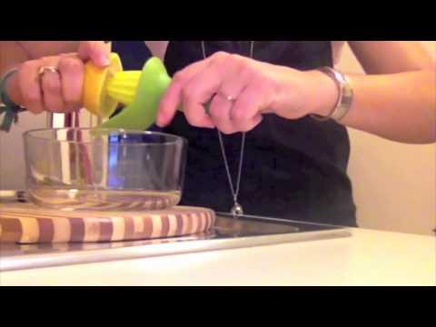 Spremi Limone manuale con filtro semi - Idea regalo per la cucina