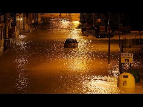 Φονικές πλημμύρες στην Ισπανία