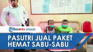 Jual Paket Hemat Sabu-sabu di Toko Kelontong, Pasutri Terancam Hukuman Penjara 5 Tahun Lebih