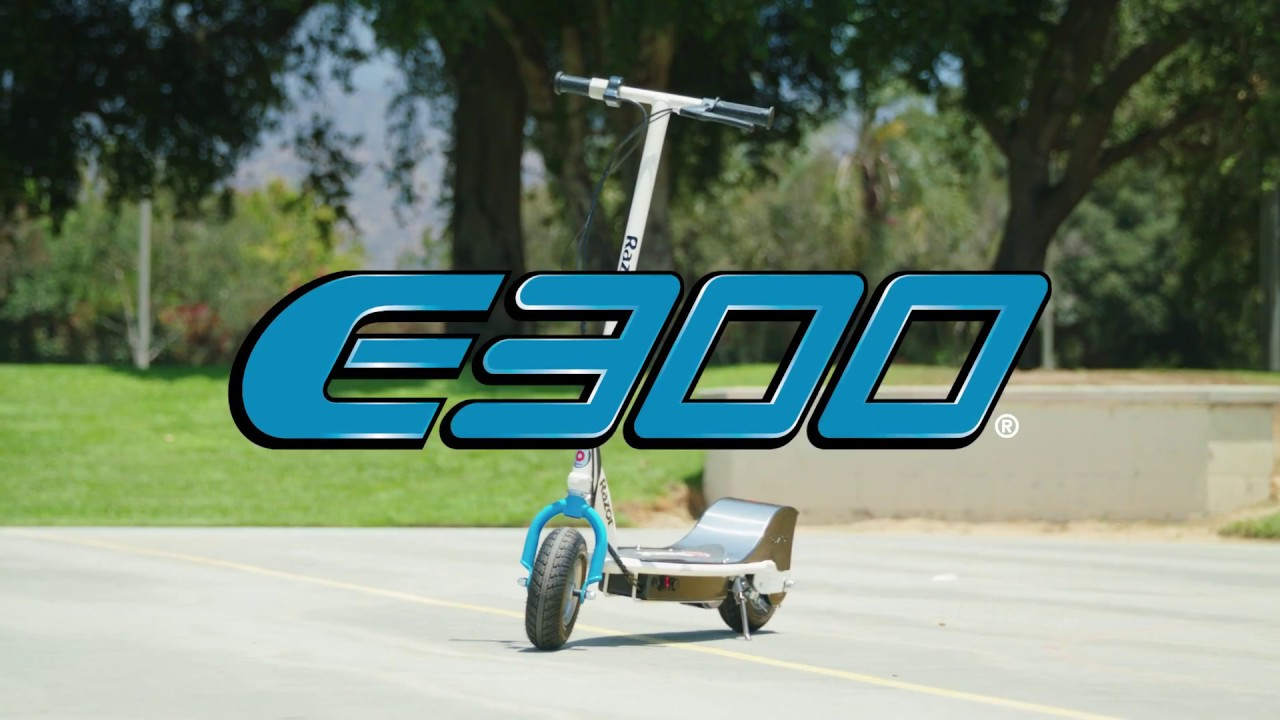 E300 Electric Scooter Ride Video