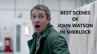 Martin Freeman Best Scenes As John Watson In Sherlock