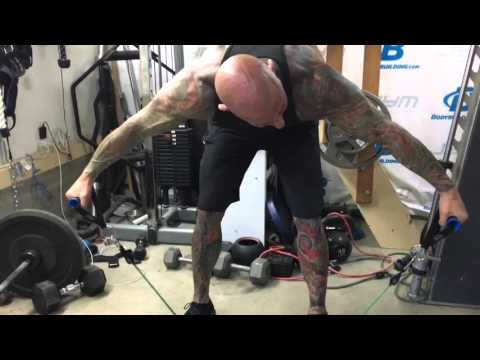Resistance Band Bent Over Lateral Raise