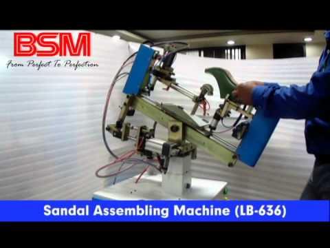 Sandal Assembling Machine