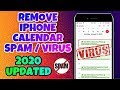 Remove iPhone Calendar Virus | Delete iPhone calendar Spam events | Calendar Virus