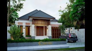 Video Mr. Ammal Rozib Villa Bali House 1 Floor Design - Sumatera Selatan