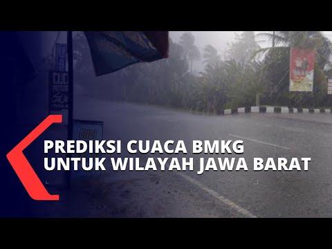 Waspada Hujan Ekstrem! Berikut Prakiraan Cuaca BMKG untuk Wilayah Jawa Barat