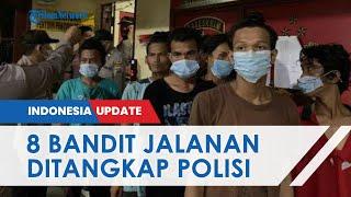 8 Bandit Jalanan di Pintu Tol Bandar Selamat Ditangkap, 7 Pelaku Positif Narkoba, Ini Perannya