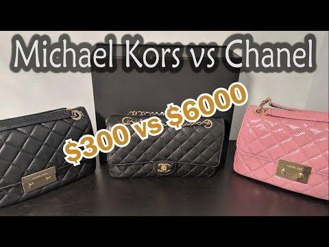 Michael Kors Sloan vs Chanel Classic Flap