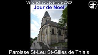 2020-12-25 – Messe du jour de Noël