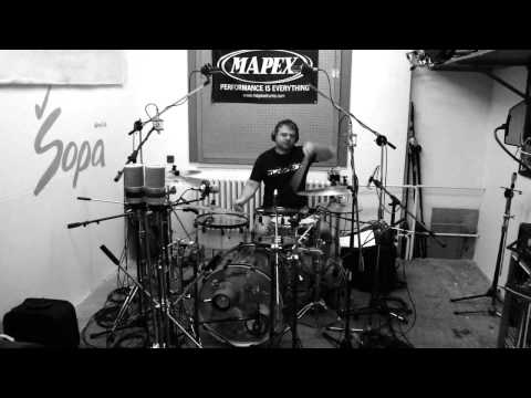 Different Values - Different Values - studio report - making drums