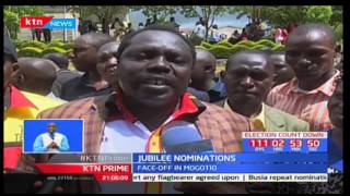 Baringo aspirants exchange kicks and blows in a meeting ahead of Jubilee primaries