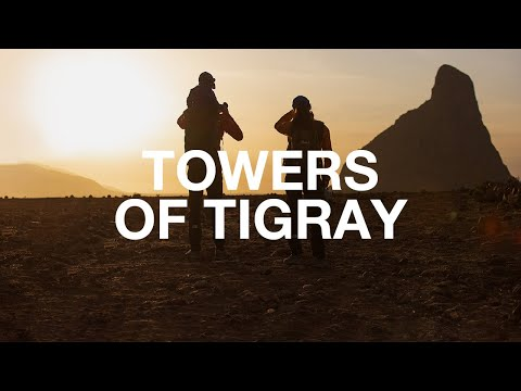 Young couple take on beautiful towers of rock in Ethiopia