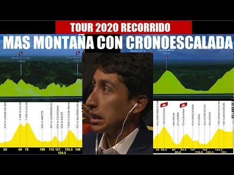 NAIRO Quintana y EGAN Bernal FAVORECIDOS con RECORRIDO TOUR Francia 2020