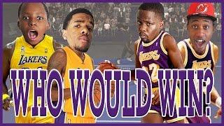 WHO WOULD WIN? KOBE & SHAQ OR MAGIC & KAREEM!! - NBA 2K17 Head to Head Blacktop Gameplay