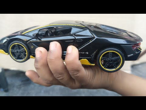 #KIDS LIKE #CARS Limousine US1984  rc car lamborghini  Die-Cast 4 Wheel  unboxing & testing video