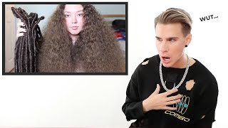 Hairdresser Reacts To Dreadlock Removal Videos