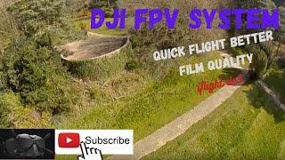 Dji hd fpv system with iflight dc3