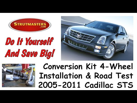 Front And Rear Air Shock Conversion For Cadillac STS / Ride Along