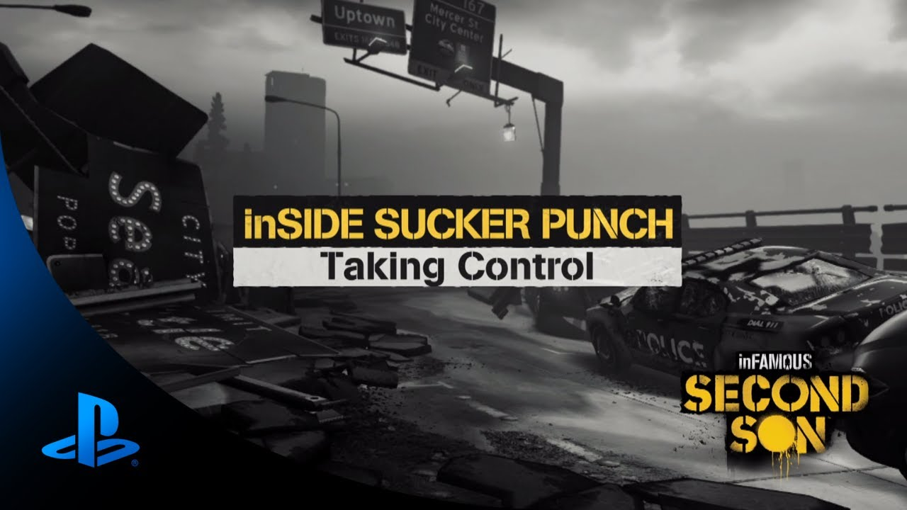 Using the DualShock 4 in Infamous Second Son