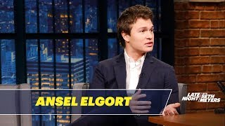 Ansel Elgort Kept The Car From Baby Driver