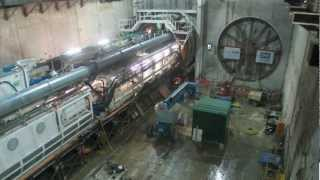 preview picture of video 'Crossrail TBM Sophia Launched'