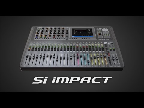 Soundcraft Si Impact Overview