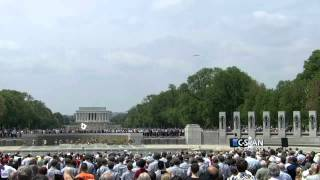 Taps and Missing Man Formation (C-SPAN)