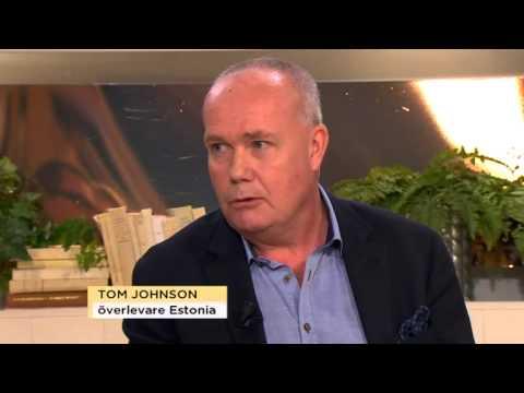 Tom Johnson överlevde Estoniakatastrofen - Nyhetsmorgon (TV4)