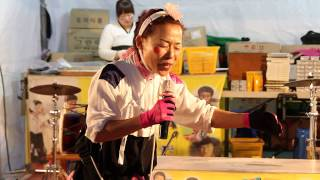 15 05 16 옥천 지용제  테마예술단 깡통과 고하자의 품바나라 고하자님공연  백세인생