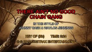 Johnny Cash & Waylon Jennings - There Ain't No Good Chain Gang (Backing Track)
