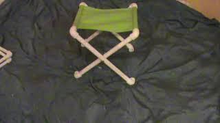 Как из трубки сделать стульчик для рыбалки своими руками