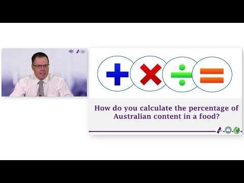 How do I calculate the proportion of Australian ingredients?