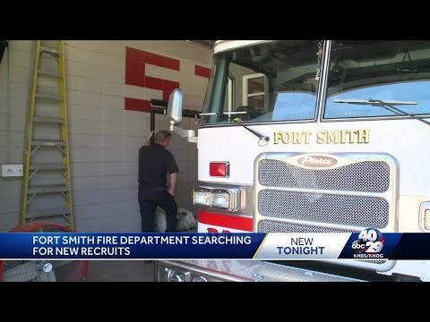 Fort Smith Fire Department is hiring