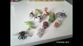 Beaded Animals And Key-ring For Sell