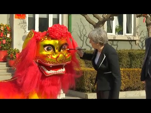 British Prime Minister Theresa May leaves China with over 7 billion euros of trade deals